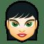 Female Face FI 1 icon
