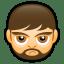 Male Face A2 icon