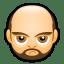 Male Face A3 icon
