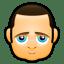 Male Face B1 icon