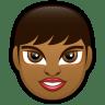 Female-Face-FD-2-dark icon