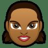 Female-Face-FD-5-dark icon