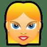 Female-Face-FE-4-blonde icon