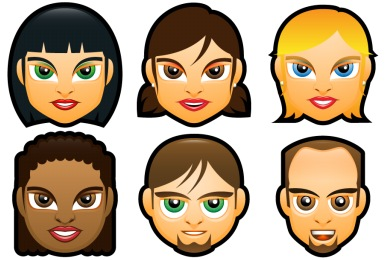 Face Avatars Icons