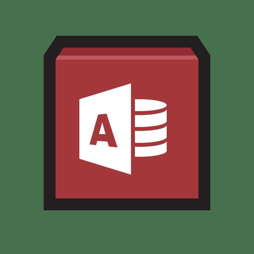Microsoft Access icon