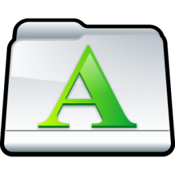My Fonts icon