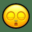 Smiley bored icon