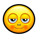Smiley pleased icon