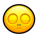 Smiley sleep icon