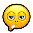 Smiley smoking icon
