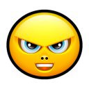 Smiley upset 4 icon