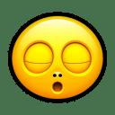 Smiley zzz icon