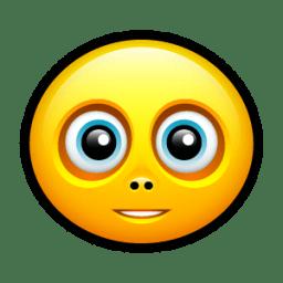 Smiley friendly icon