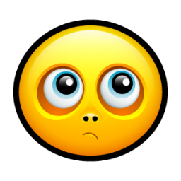 Smiley reflective icon