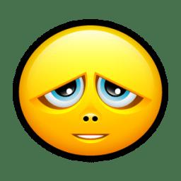 Smiley sorry icon