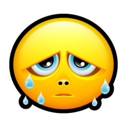 Smiley teards icon