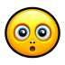 Smiley-surprised icon