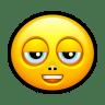 Smiley-stoned icon