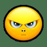 Smiley-upset-2 icon