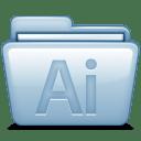 Blue Adobe Illustrator icon