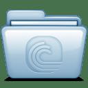 Blue Bittorrent icon