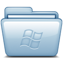 Blue Windows icon