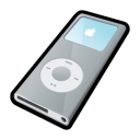 iPod Nano Silver icon