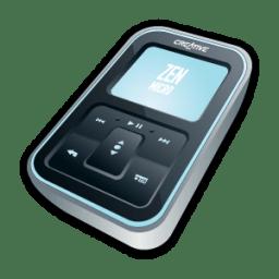 Creative Zen Micro Black icon