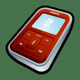Creative Zen Micro Red icon