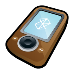 Microsoft Zune Brown icon