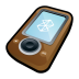 Microsoft-Zune-Brown icon
