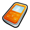Creative-Zen-Micro-Orange icon
