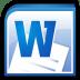 Microsoft-Office-Word icon