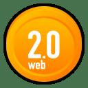 Web 2 0 icon