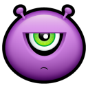 Alien displeased icon