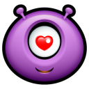 Alien-love icon