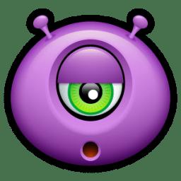 Alien bored icon
