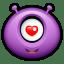 Alien love icon