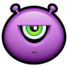 Alien-displeased icon