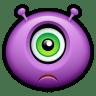 Alien-sad icon