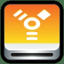 Removable Drive Firewire icon
