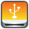 Removable-Drive-USB icon