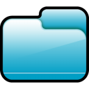 Folder Closed Blue icon