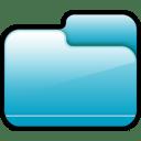 Folder Closed Blue icon