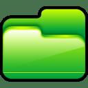 Folder Open Green icon