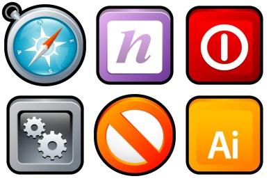 Sleek XP Software Icons