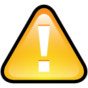 Button Warning icon
