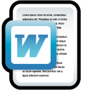 Document Microsoft Word icon