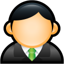 User Executive Green icon