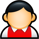 User Preppy Red icon